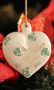 belleek decorations iron
