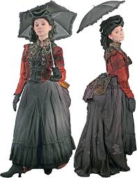 Victorian Dress Halloween Costume Victorian Bustle Woman 11 Costume Hedda Bustle