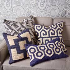 modern throw pillows accent by designer jonathan adler summer home