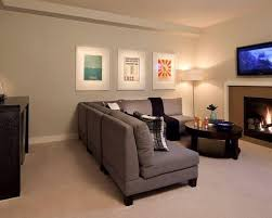 basement rec room houzz