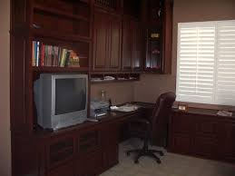 built in home office furniture and desks built in home office