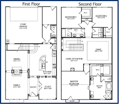 house plan two story floor plans condo bdrm bath with loft