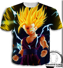 dragon ball goku gohan trunks shirt 3d clothing