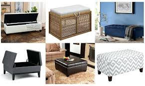 Large Storage Ottoman Bench Alfred Faux Leather Small Storage Ottoman Bench By Christopher