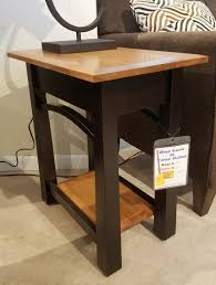 Amish End Tables by Amish Chairside Table Jasen U0027s Fine Furniture Since 1951