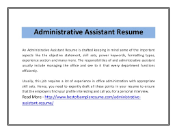 Administrative Assistant Resumes Administrative Assistant Resume 2 638 Jpg Cb U003d1407214663