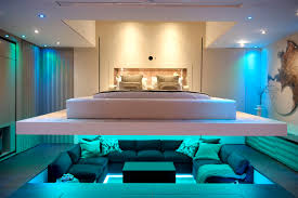 Modern Mansion Interior Large Modern Mansion With Chaise Lounge Couch And
