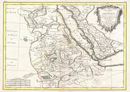 Map Of Sudan File 1771 Bonne Map Of Abyssinia Ethiopia Sudan And The Red Sea