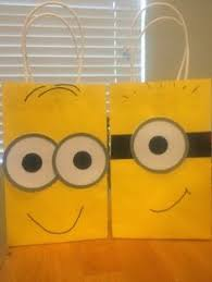 minion gift bags despicable me minion gift bag idea evil minions tutorials and craft