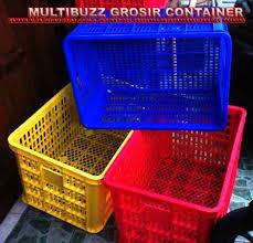 Jual Keranjang Container Plastik Bekas terjual cool box 200 liter tong sah pallet keranjang container