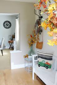 fall front entry decorating tips clean and scentsible