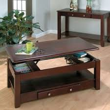 hammary concierge oval lift top coffee table coffee tables at