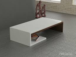 furnitures modern white coffee table best of modern tribeca