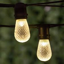 patio lights commercial warm white led patio string lights 24
