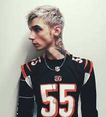 Andy Biersack With Blonde Hair | rockin the blonde hair andy biersack andy black oe la la 3