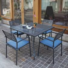 Savannah Outdoor Furniture by Outdoor Dining Chairs Savannah Metal Square Stacking Chair