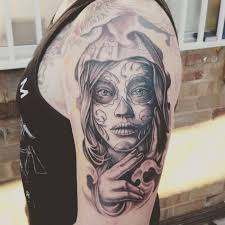 90 best day of the dead tattoos designs meanings 2018