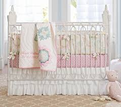 Floral Crib Bedding Sets Floral Nursery Bumper Bedding Set Crib Fitted Sheet Crib