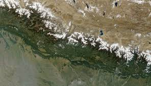 India Satellite Map by Atlas Of Nepal Wikimedia Commons