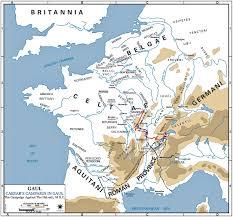 Rit Campus Map Map Of Caesar U0027s Campaign Against The Helvetii 58 Bc