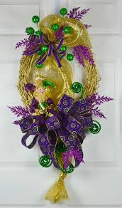 mardi gras jester ribbon dog mardi gras grapevine wreaths mardi gras wreaths mardi gras