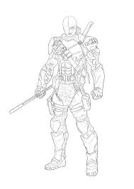 killer croc coloring pages deathstroke coloring pages coloringeast com