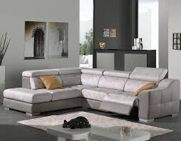 canapé d angle gris clair canape d angle tissu gris et marron hcommehome