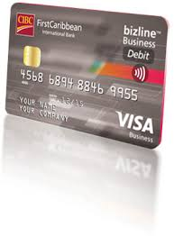 Visa Business Card Cibc Firstcaribbean International Bank U2013 Business Debit Card