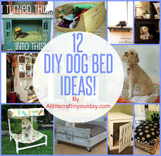 Puppy Beds 12 Diy Dog Beds A Little Craft In Your Day