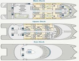 Catamaran Floor Plans Petrel Catamaran Ecuador Green Travel