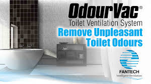 remove unpleasant toilet odours odourvac youtube