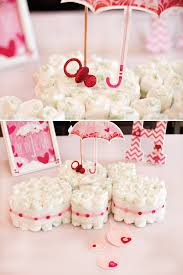 ideas for girl baby shower showered with baby shower part 1 table decor hostess