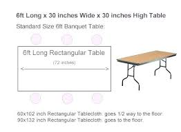 table runner size guide tablecloth measurements guide table measurement chart x inch