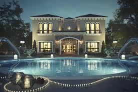 Home Lighting Design Dubai Tuscan Inspired Villa In Dubai Idesignarch Interior Design