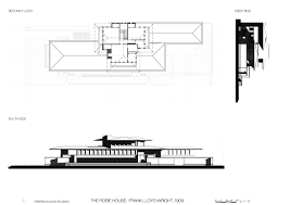 Frank Lloyd Wright Floor Plan Frank Lloyd Wright Robie House Chicago Usa 1910 U2013 Atlas Of