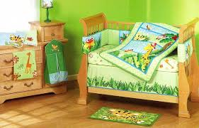 Crib Bedding Jungle Green Jungle Crib Bedding Home Inspirations Design Beautiful