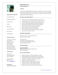 Resume Sample Doc Philippines by Resume Format For Accountant Doc Resume For Your Job Application