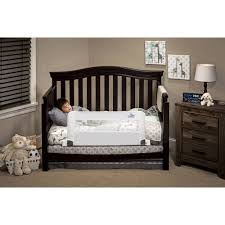 Crib That Converts To Twin Size Bed by Convertible Swing Down Bed Rail Walmart Com