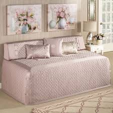 silk allure quilted hollywood daybed cover bedding