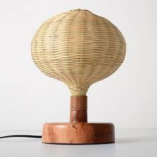 Bamboo Desk Lamp Wood Lamps I Modern Lighting For Home Restaurants And Workplace