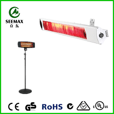 infrared heaters outdoor patio seemax electric outdoor quartz infrared patio heater 220v buy