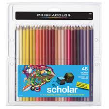 prisma color pencils prismacolor scholar colored pencils
