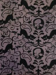 halloween eerie fabric collection by basic grey for moda black cat