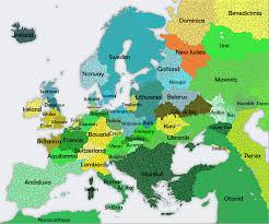 The Map Of Europe by The European Emirates The Map Of Europe If Byzantium Converted
