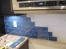installing glass tile backsplash in kitchen how to install a glass tile backsplash armchair builder within