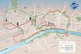 Urban Map Stadtrundfahrt Frankfurt Sightseeing Mit Dem Bus
