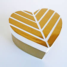 gold foil gift boxes 14 diy s day gift boxes to make now shelterness