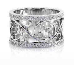 filigree wedding band jewelers unique wedding bands unique wedding rings