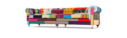 Chesterfield Sofa Patchwork Patchwork Liam The Colorful Chesterfield Sofa Joybird