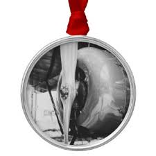 black white aviation ornaments keepsake ornaments zazzle